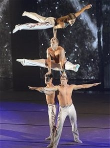 Acropolis are a team of elite acrobatic gymnasts from Deerness Gymnastics Academy.