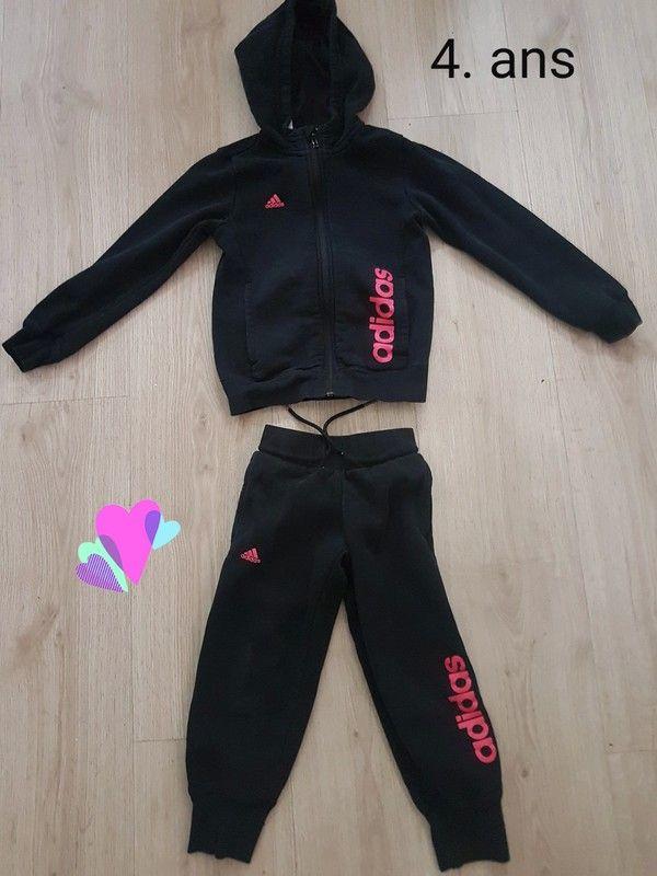 adidas noir et or rose