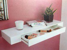 Design Parete Scaffale Soggiorno Vaschetta Livingboard Wandboard Mobili bianco