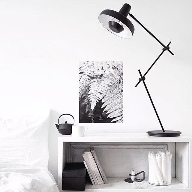 @studio_nahili lamp by @grupa_studio poster by @studio_nahili candles by @ikeadeutschland black box by @ikeausa candle holder by @normanncph by cashmeremilk