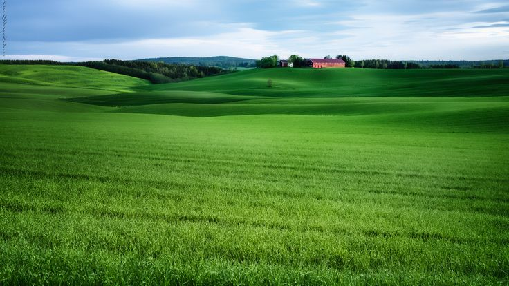 Green waves and light and shadows by Hallgeir Nielsen on 500px