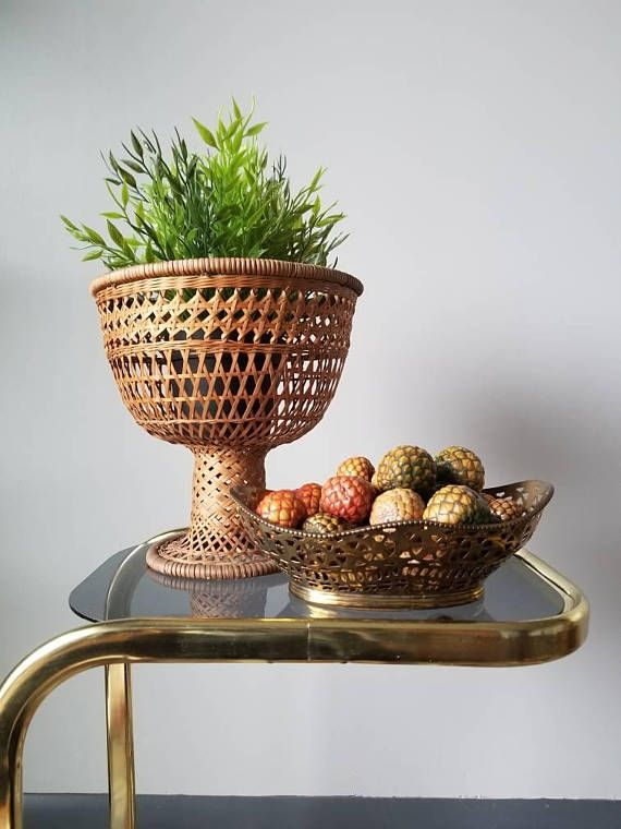 Brass home decor. Bohemian vibes. Boho home decor. Hey, I found this really awesome Etsy listing at https://www.etsy.com/ca/listing/587961451/vintage-brass-bowl-cut-out-decorative