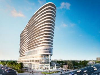 A well planned condominium development with a variety of offerings as far as the types of condos are concerned to suit wide client base needs #ArcDanielsErinMills