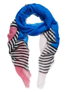 Sussan - Accessories - Scarves - Stripe and colour scarf
