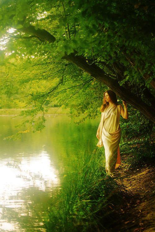 The goddess Diana. (credit to Marinshe)