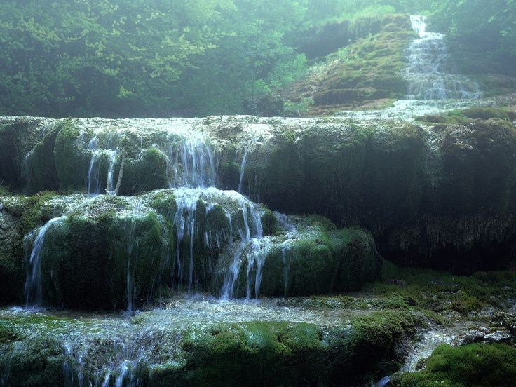 gorgeous.Foggy Fall, Urwald Felsen, Enchanted Forests, Fluss Wasserfall, Nebel Mystisch, Nature Mystisch, Wasserf Nebel, Relaxing Quotes, Awesome Nature