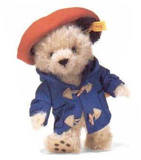 Steiff Paddington Bear! I LOVE him! ❤