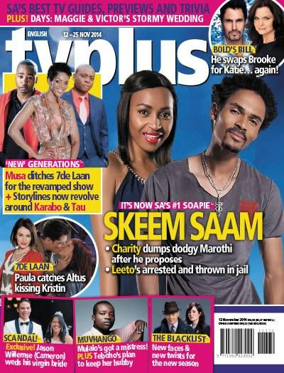 TV Plus English. TV. Gossip. Soaps. South African.