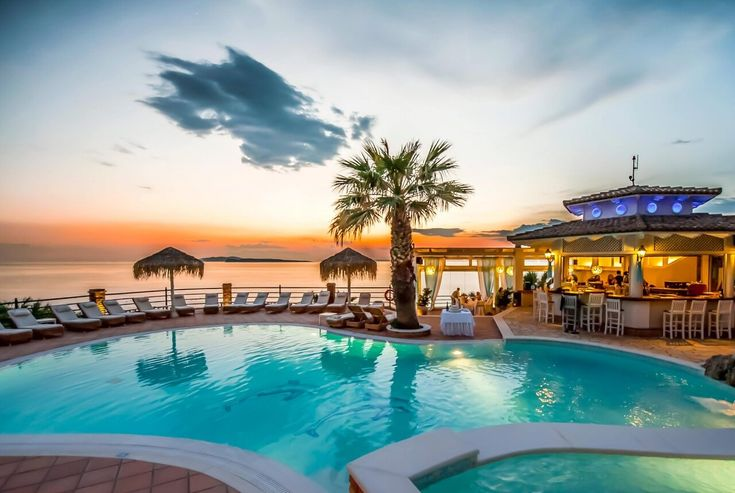 Corfu Hotel Delfino Blu is a small luxury boutique hotel that will captivate all visitors with its beautiful simplicity and the relaxing atmosphere.