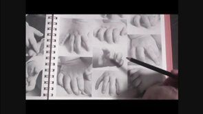 How To Draw Hands | www.drawing-made-easy.com | #draw  #hands
