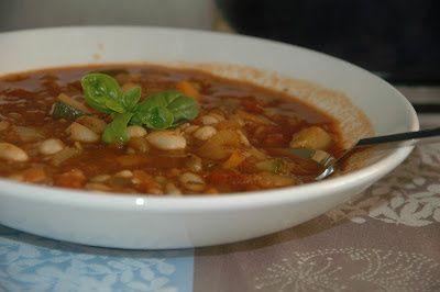 Grønnsaksuppe med smak av Italia - http://www.mytaste.no/o/gr%C3%B8nnsaksuppe-med-smak-av-italia-1680780.html