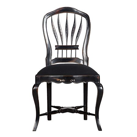 Sandalyeler - Maxxdepo - Wheatback Sandalye Siyah - AltıncıCadde.com