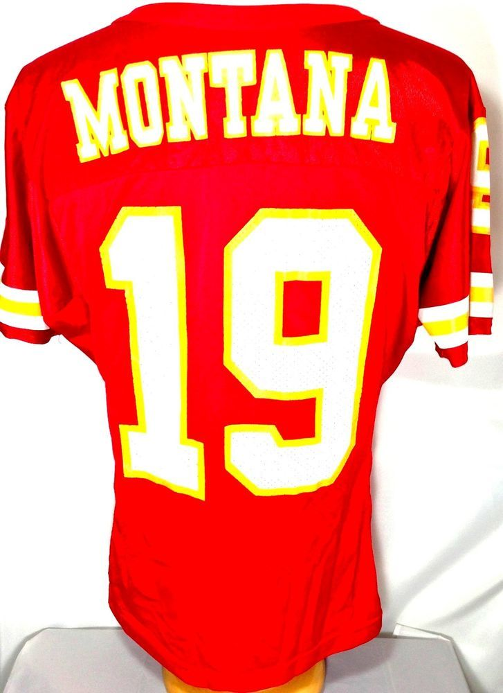 huge discount 6da5f 7981f Kansas City Chiefs Joe Montana #19 Black USA Flag Fashion ...