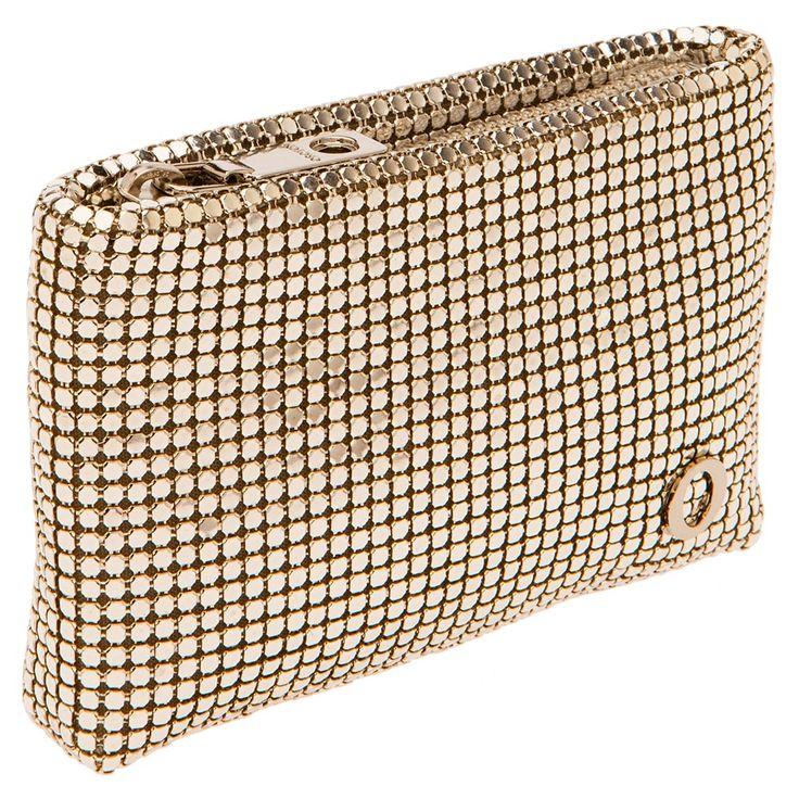 mesh zip top coin purse | Oroton Luxury Accessories