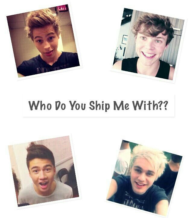 If you say mine, I'll say yours and make a ship name