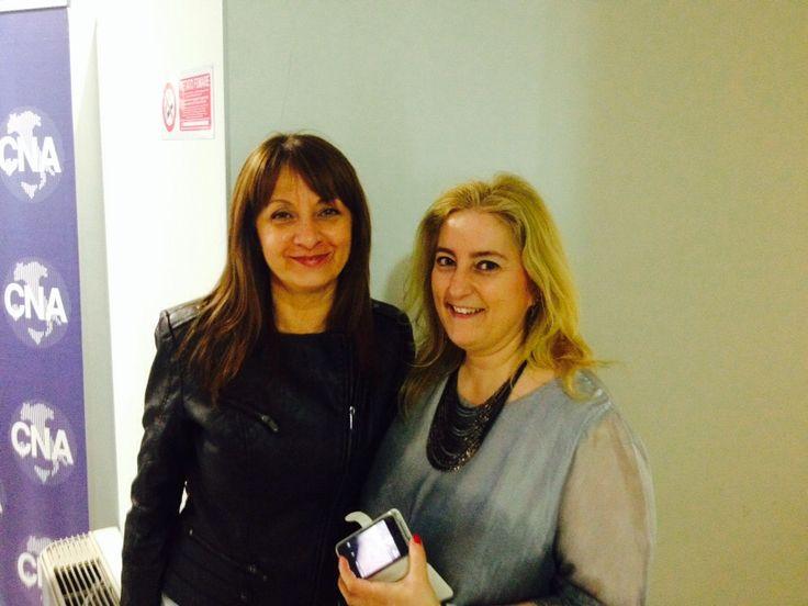 Manuela Boncompagni e Valentina Laurenzi coordinatrici di Confartigianato e Cna Estetica