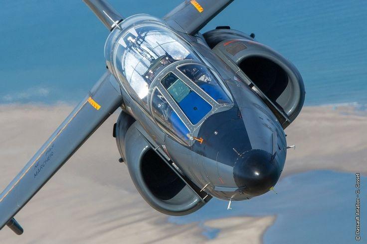 © Dassault Aviation / G. Gosset - A French Armée de l'Air Dassault Aviation Alpha Jet E on a flight.