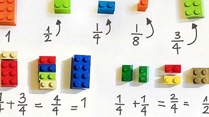 子供達にとって馴染みのあるLEGOを使うことで、小さい子供に馴染みのない分数の計算を馴染みやすくしているんでしょうね。 それにしてもLEGOは何でもできちゃう優秀な玩具だなぁ。 大人から子供まで楽しめるし学びにも使えるって凄い♪