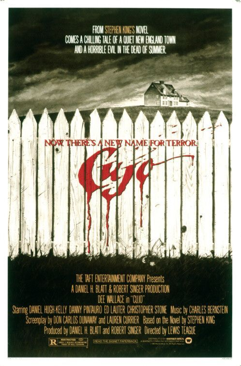 Cujo. 1983. D: Lewis Teague.  To hear the show, tune in to http://thenextreel.com/tnr/cujo or check out our Pinterest board: http://www.pinterest.com/thenextreel/the-next-reel-the-podcast/  https://www.facebook.com/TheNextReel https://twitter.com/TheNextReel http://www.pinterest.com/thenextreel/ http://instagram.com/thenextreel https://plus.google.com/+ThenextreelPodcast http://letterboxd.com/thenextreel http://www.flickchart.com/thenextreel