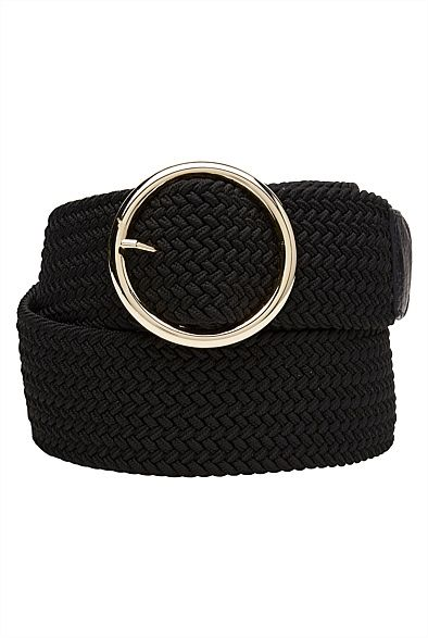Woven Waisted Belt  #WITCHERYSTYLE