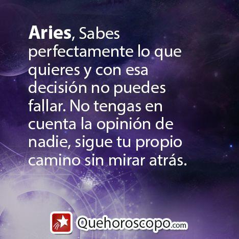#Horoscopo #Aries #Amor #Trabajo #Astros #Predicciones #Futuro #Horoscope #Astrology #Love #Jobs #Astrology #Future  http://www.quehoroscopo.com/horoscopodehoy/aries.html?utm_source=facebooklink&utm_campaign=semanal&utm_medium=facebook