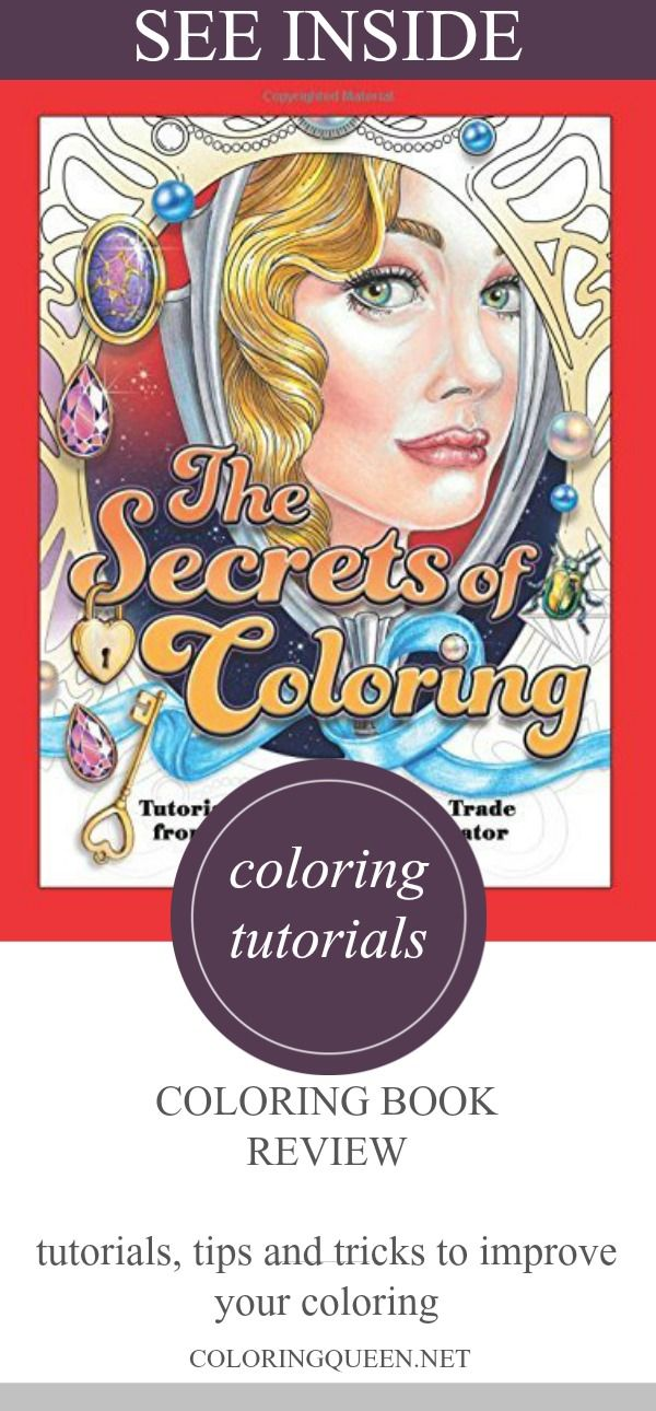 The secrets of coloring coloring book review