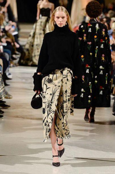 bf4e77a7b79 Oscar De La Renta 2018 2019 FW RTW New York Fashion Week