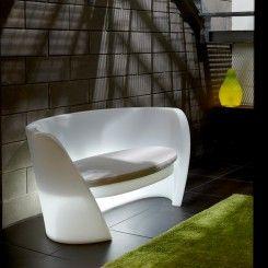 Canapé rap white Slide #design