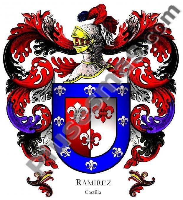 Escudo del apellido Ramírez