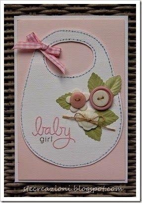 Stampin up baby card