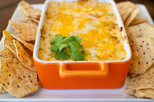 Baked Tex-Mex Pimiento Cheese Dip.   Holy crap this stuff is awesome. I did not add the worcestershire sauce.