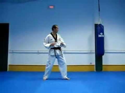 14 Estilos de patadas de taekwondo y dos con salto, 14 styles of taekwondo kicks and two jumping - YouTube