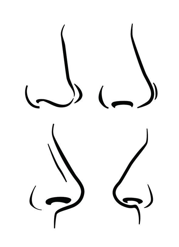 How To Draw Expressive Noses | www.drawing-made-easy.com | #noses #drawing