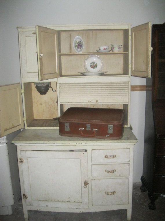 20 best Hoosier Cabinet images on Pinterest   Hoosier cabinet, Pie ...