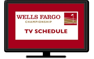 TV schedule for this week's PGA Tour Wells Fargo Championship