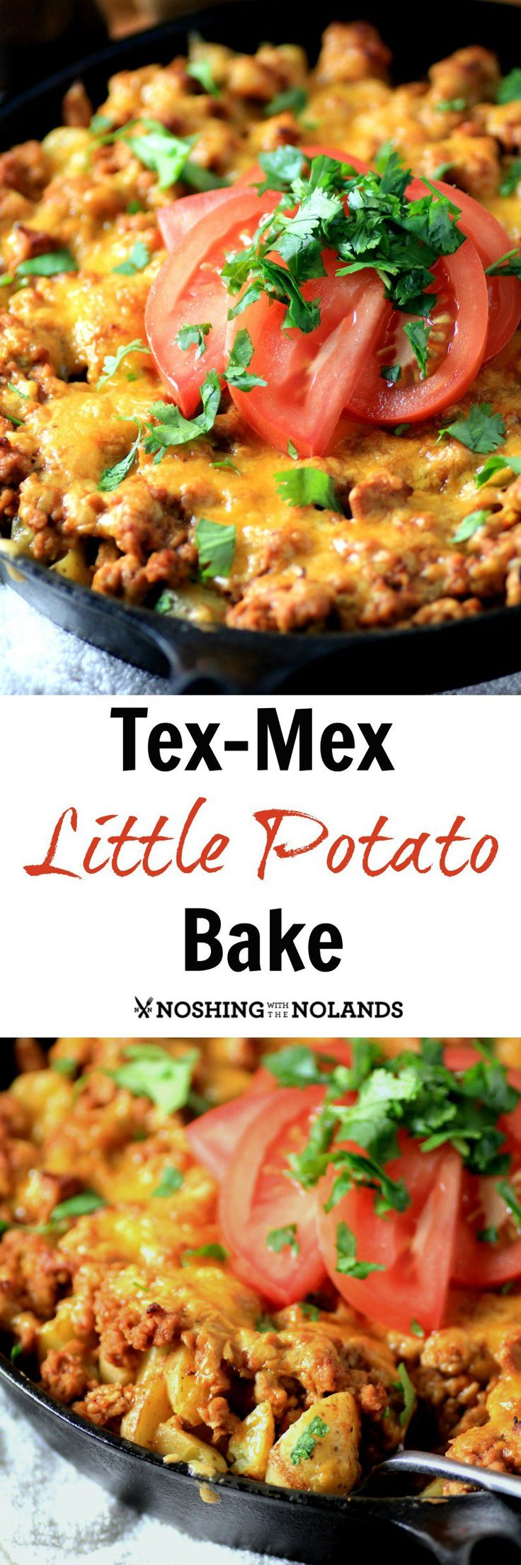 Tex Mex Little Potato Bake Recipe Potatoes New Year S And Casseroles