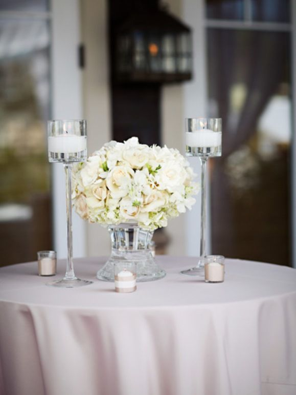 7 best images about cocktail hour on pinterest cancun for White wedding table decorations