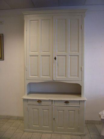 Serveringsskåp sekelskifte 140x52 h=ca:260cm. Möbler - Skåp & Hyllor – Auctionet
