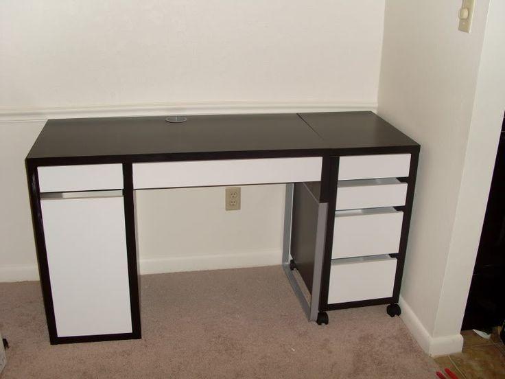 New IKEA Desk  office  Ikea desk Micke desk Desk