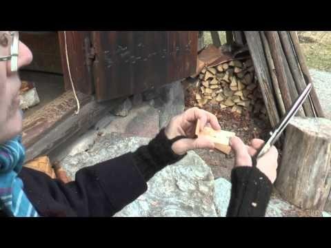 Slöjda med Skansen: Enkel näverslöjd - YouTube
