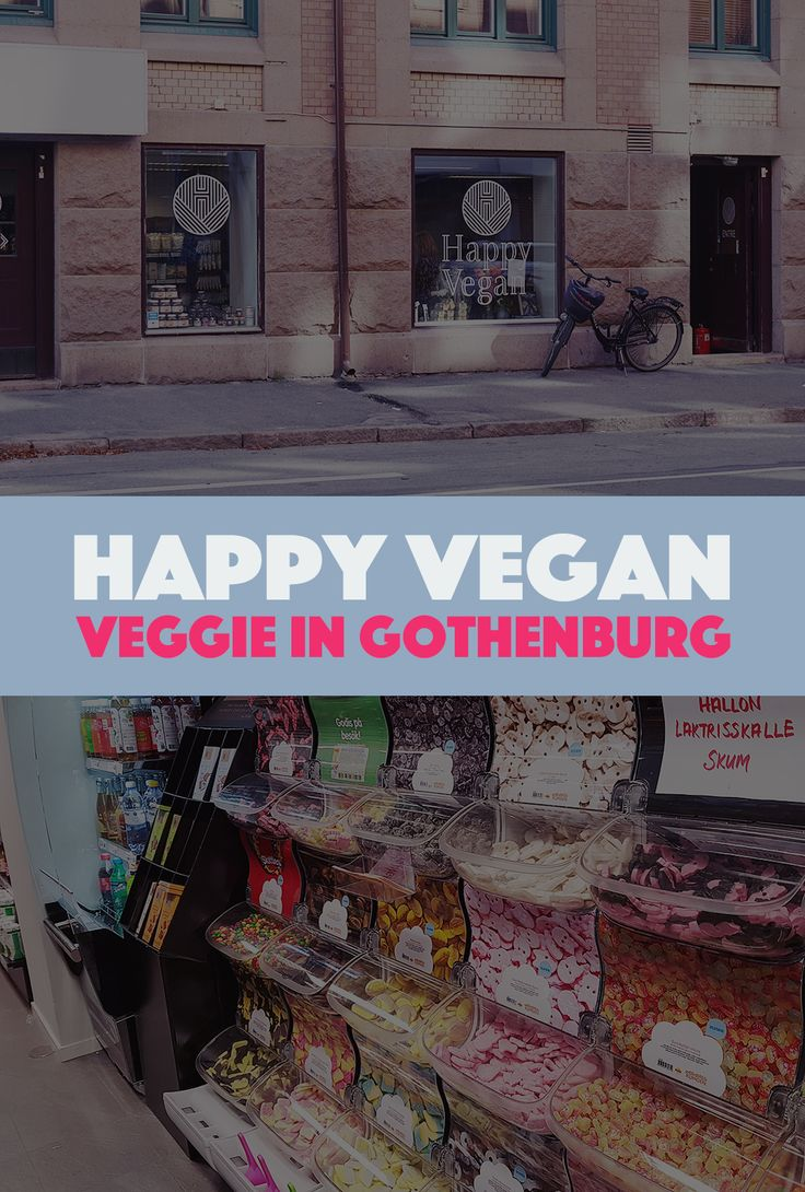 Veggie in Gothenburg – Happy Vegan | This new vegan grocery store in Gothenburg, Sweden has everything you need for your vegetarian and vegan cooking and baking. And all the tasty snacks you could possibly desire too, of course.