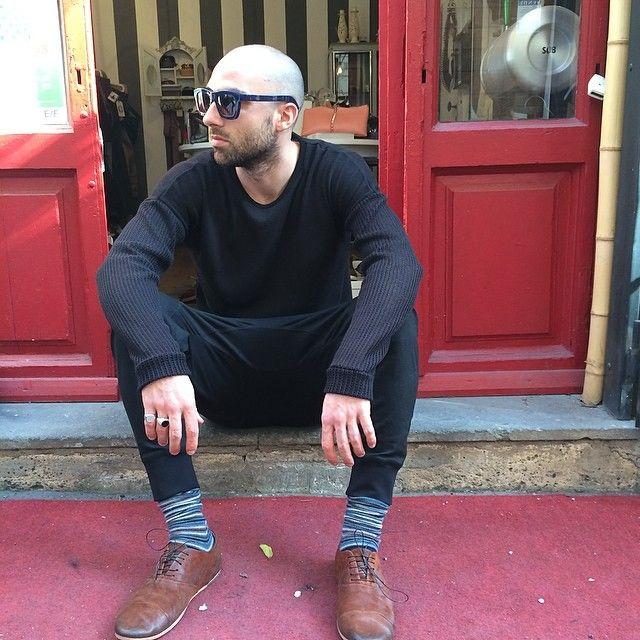 #sunglasses #kuboraum #knitwear #dgnak #tshirt #rickowens #trousers #neilbarrett #shoes #marsell #rings #andreamontellijewelry @andreamontellijewelry