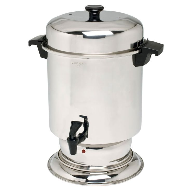 Industrial Kitchen Equipment Rental: West Bend K1355A 55 Cup (2.2 Gallon) Stainless Steel