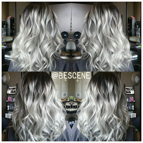 ROOTY PLATINUM🔱ASH BLONDE!  Ik heb deze blik met behulp van @Schwarzkopfusa Igora Royal!  Basis: 4-13,5-1, E-1,0-22 10 volume Eindigt: 9.5-1,10-1, E-1,0-11 7vol.😉 ontworpen door mijn assistent @ elizabethashleyy👍 #BESCENE