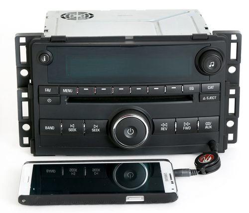 Pontiac G5 & Chevy Cobalt 2007-2008 AM FM CD Aux Input Radio - GM Part 22714657