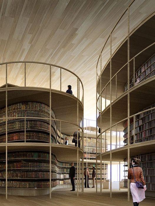 Helsinki Central Library Entry by AAKAA & MARS Architectes
