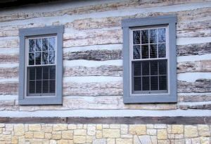 15 best double hung windows images on pinterest double for Best replacement windows for log homes