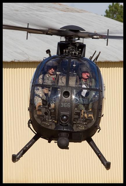 MH-6 Littlebird US Army 160th SOAR by Nick__Thomas