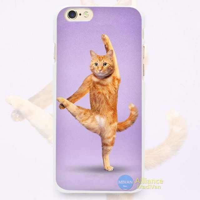 Yoga Cats iPhone Case