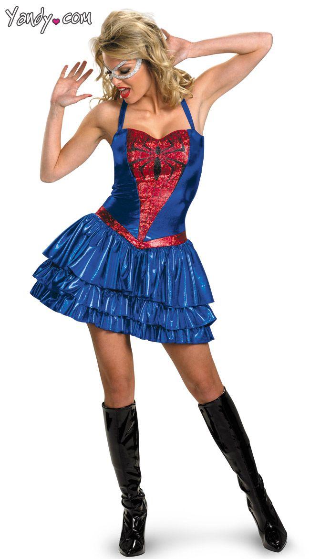 spider woman costume costumesspookiness pinterest woman costumes spider and spider girl costume - Spider Girl Halloween Costumes
